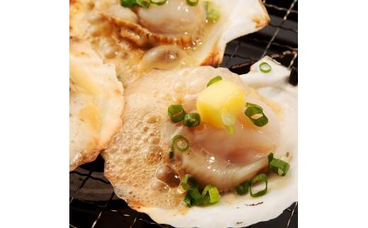 宗谷産ホタテ貝 片貝付き(焼き貝用)急速冷凍 1キロ(11~12枚)×3袋 合計3キロ【03002】