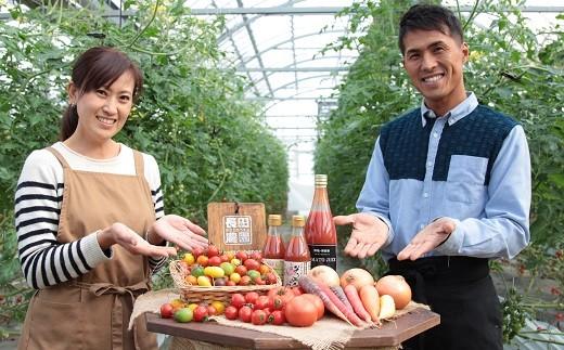 【4月~6月の定期便】トマト好き全員集合‼トマト・トマト・トマト3か月お届けパック H004-038