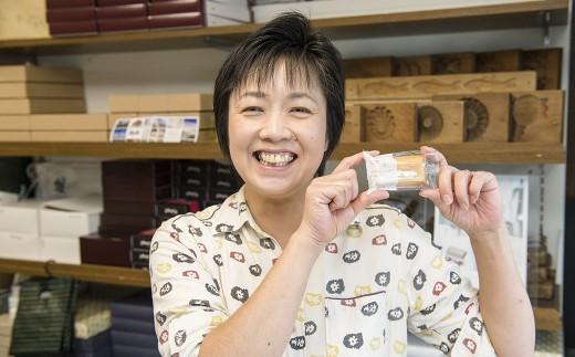 いつも笑顔が素敵な 奥様の久美子さん お薦めの 食べ比べセット