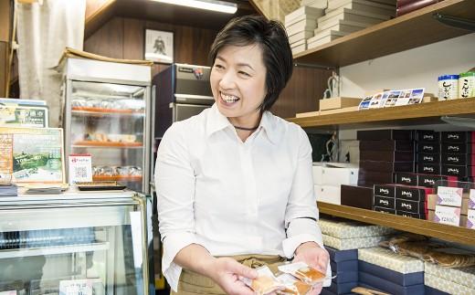 お店に来る 地元の子どもたちのエピソードを 楽しそうに話してくれた 久美子さん