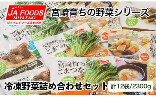 【10日前後でお届け】とっても便利!!冷凍野菜詰め合わせセット<1-127>