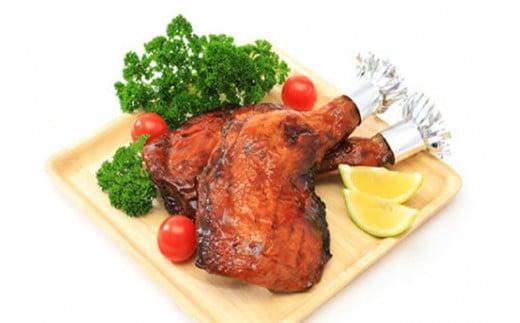 0010-38-03.静岡県産銘柄鶏「富士の鶏」骨付きモモ肉セット