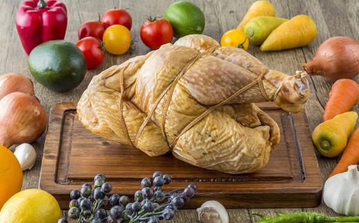 勿論 そのまま食べても美味しい スモーク丸鶏