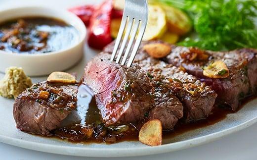 赤崎牛の赤身ステーキ