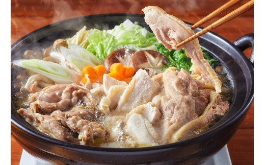 みやざき地頭鶏 絶品鶏鍋肉セット [15-07]