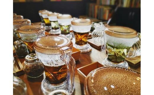 葛 の 花茶