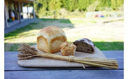 かまパンのおすすめのパンと小麦マフィン