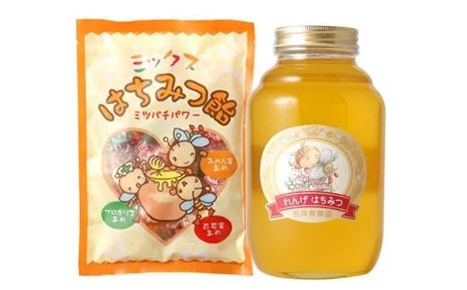 【選べる蜂蜜】国産 純粋 蜂蜜 2kg 蜂蜜あめ 1袋 はちみつ