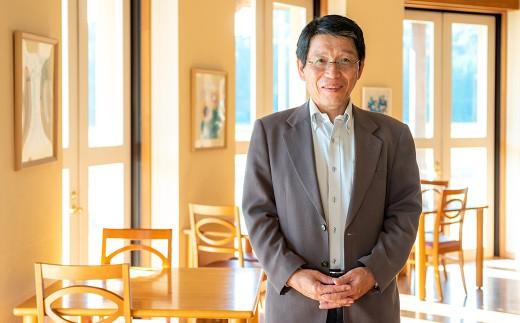 「人に自然に、やさしい地域づくり」を目指しています。施設長の畠山さん
