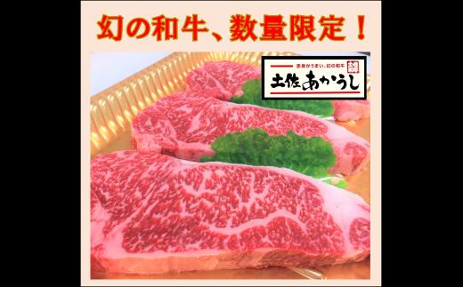 zn173土佐あかうしサーロインステーキ(約190g×3枚)