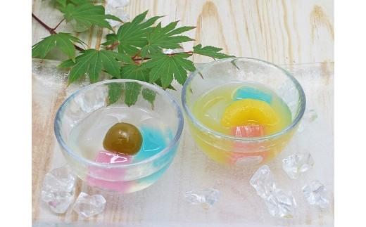 綾子舞本舗タカハシ「一葩餅[ひとひらもち](夏みかん:4個、うめ:4個)」