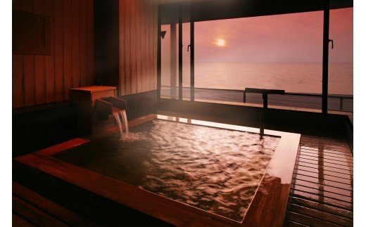 L01-903 湯野浜温泉 游水亭いさごや 詣でる つかる 頂きます1泊2食付ペア宿泊券