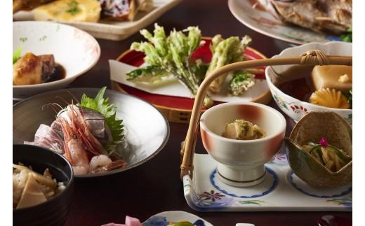 J01-903 湯田川温泉 つかさや旅館 詣でる つかる 頂きます1泊2食付ペア宿泊券