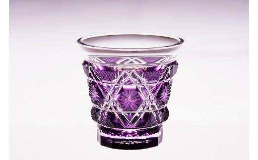 冷酒グラス(島津紫)