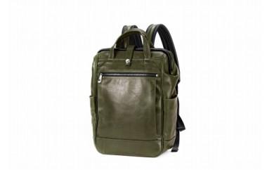 リュックサック 豊岡鞄 FW01-102-35(グリーン)