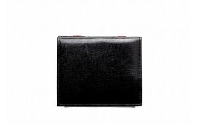 札ばさみ/コインケース 豊岡財布 TRV0106W-10(ブラック)