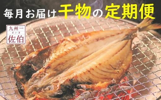 【人気の干物定期便】☆海の直売所☆生産者自慢の人気干物が毎月届く!