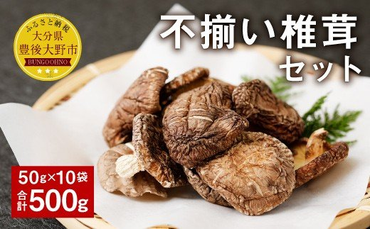 015-345 不揃い 椎茸 10袋セット