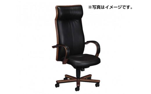 [カリモク家具]デスクチェア A / 椅子 イス 本革 レザー 家具 オシャレ 愛知県
