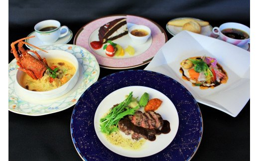 神戸牛の素牛「黒田庄和牛」のサーロインステーキ付きの贅沢な洋コースです♪