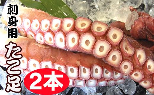 A-70031 【北海道根室産】お刺身用たこ足2本(計2~2.5kg)
