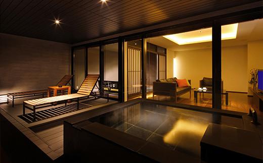 お部屋は露天風呂付客室(おまかせ)となります。