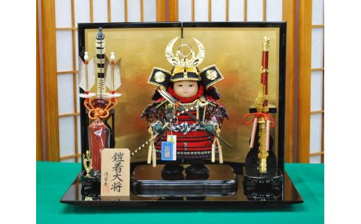 AAX-138 徳川家康・子供大将・会津塗平飾り