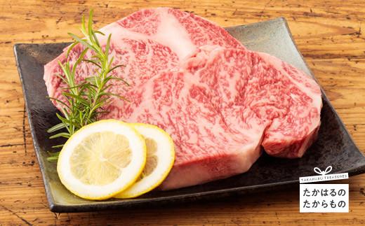 特産品番号395 宮崎牛芯ロースステーキ
