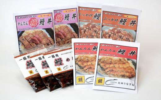 4種の鰻丼9食セット