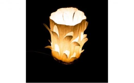 [№5221-0154]飯能和紙の花びらランプ