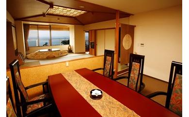 【沼津市戸田 海のほてる いさば】あかねの詩特別室 うみはひろいな