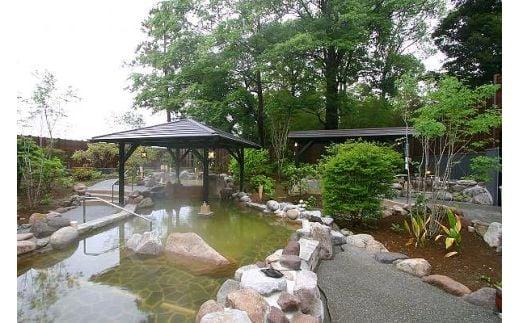 【2622-0071】杉戸天然温泉 雅楽の湯 入館ペアチケット