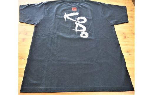 熊野古道Tシャツ【KODOTシャツ・黒・Lサイズ】 綿100% 1番人気♪スタッフおすすめです