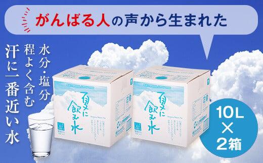 A-052 夏に飲む水 10L×2箱