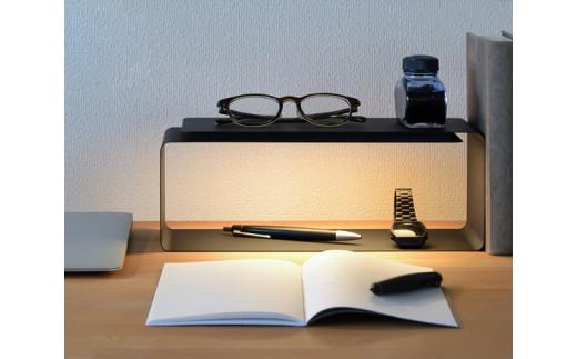 No.021 【BLACK】LIGHT SHELF / 間接照明 LED インテリア ライト シェルフ 棚 埼玉県