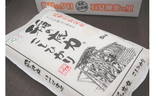 969.【令和2年産】浜田産「稲の底力こしひかり」5kg