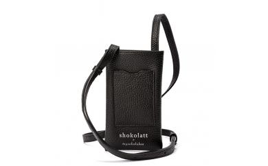 豊岡財布 トラベルモバイルポーチS(ブラック)