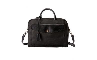 豊岡鞄 7802 キャリアケースS(ブラック×ブラック)
