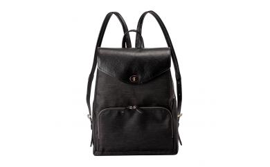 豊岡鞄 7801 キャリアリュック(ブラック×ブラック)