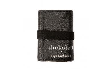 豊岡財布 トラベルモバイルウォレットXS(ブラック)