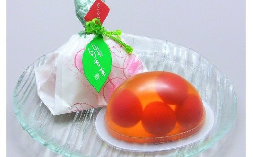 0018-2006 山形旬香菓 さくらんぼゼリー 12個