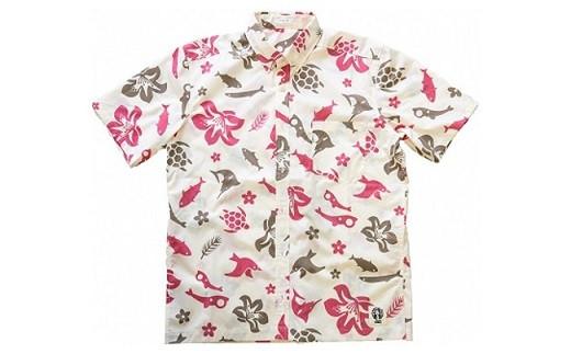 458 いわきオリジナルアロハシャツ「IWAKIアロハ」 オフ
