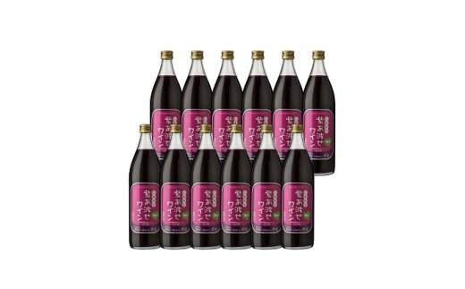 1021自園自醸ワイン紫波 紫あ波せワイン辛口12本セット