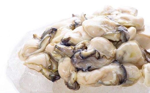大粒の冷凍牡蠣1.5キロ
