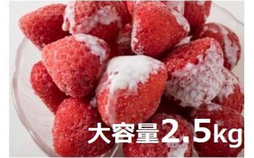 1026 【冷凍いちご】森のいちごのカッチカチいちご【色々な品種入り】 大容量2.5kg