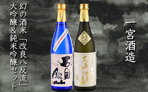 B214 石見銀山大吟醸&純米吟醸(改良八反流)セット