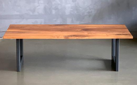 スチールレッグ センターテーブル 幅1000mm 奥行500mm