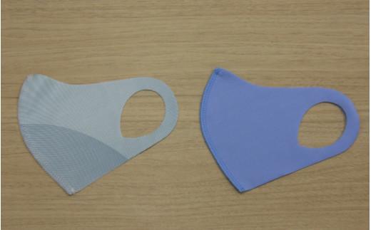 マスク ヘルメット 潜水 フィット感抜群!水着素材のクロッツマスク2枚 (Mサイズ)