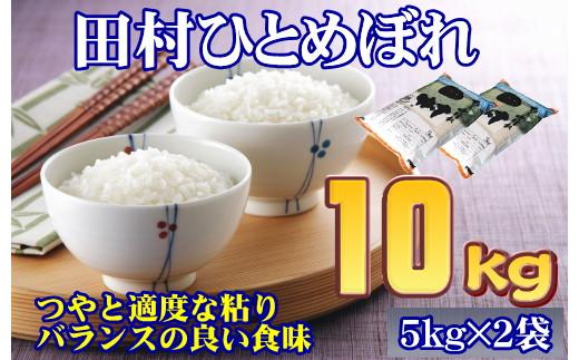 TB3-25 【令和2年産】田村市産ひとめぼれ10kg