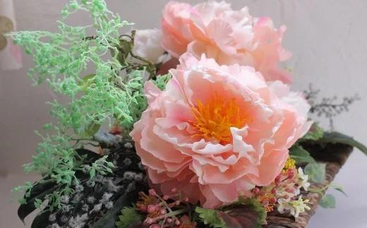 【空気をきれいにするアートフラワー】牡丹・芍薬